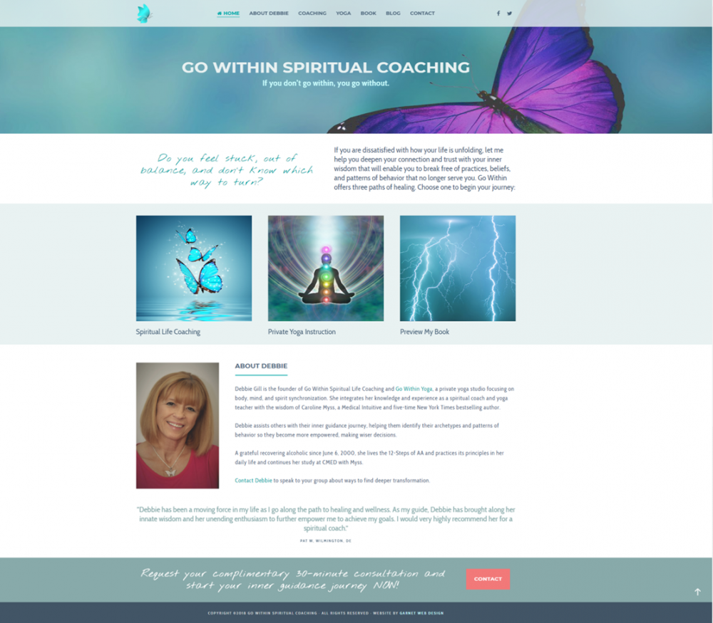 Go Within Spiritual Coaching