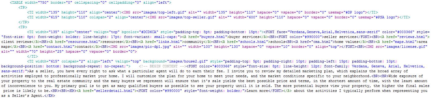 sample-html