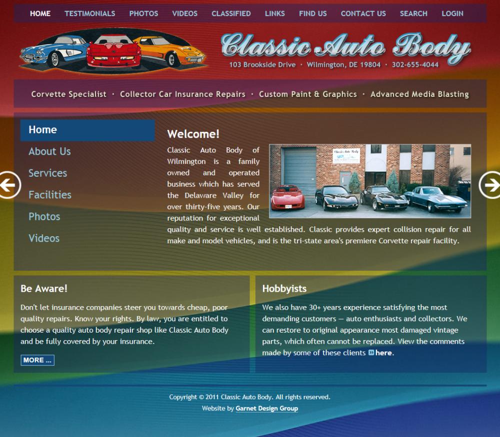 Classic Auto Body