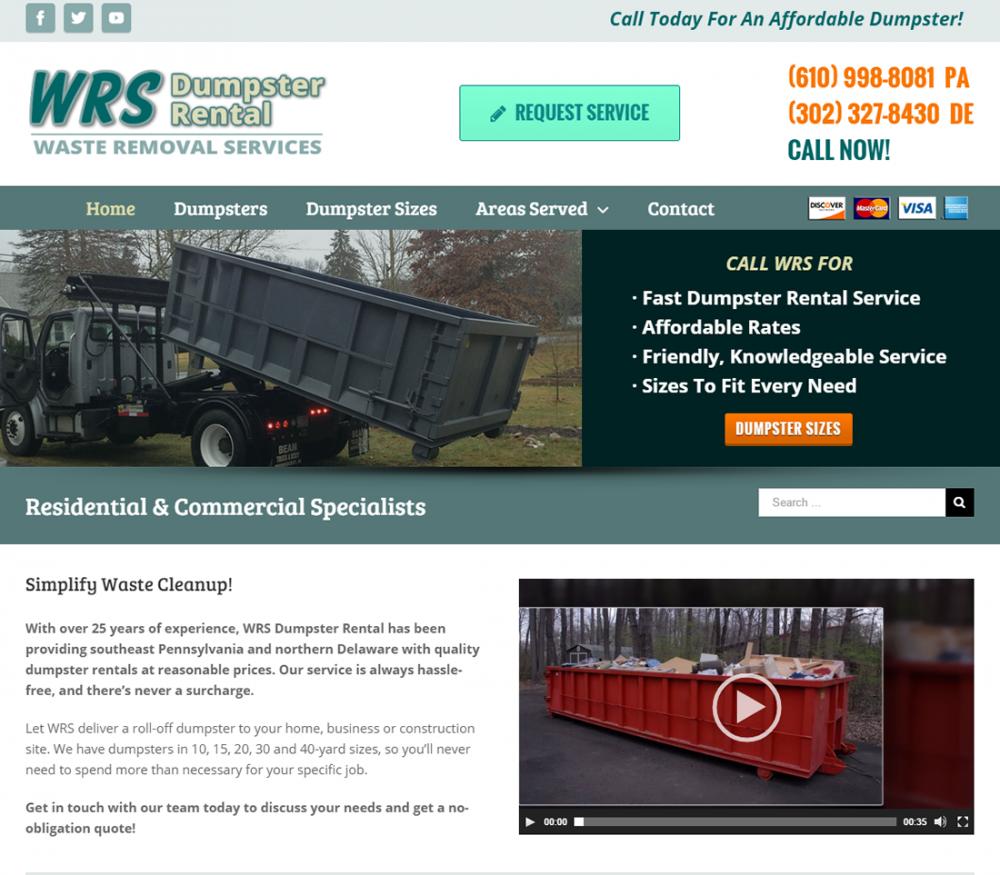 WRS Dumpster Rental